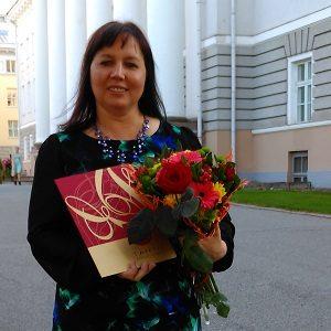 Ave Gill – Tartu aasta õpetaja 2017!